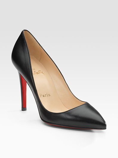 Christian Louboutin Pigalle Point-Toe Pumps