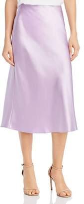 Aqua Midi Slip Skirt - 100% Exclusive