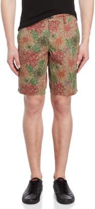 Ganesh Regular Fit Floral Bermuda Shorts