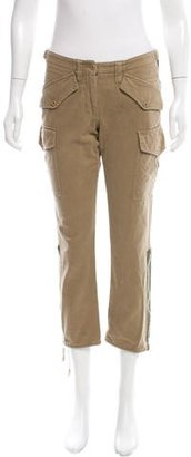 Paul Smith Cropped Cargo Pants $70 thestylecure.com