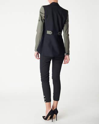 Veronica Beard Army Dickey Jacket