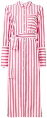 Vivetta side slit shirt dress