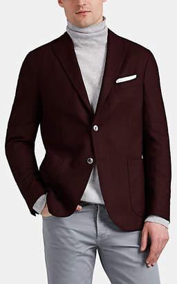 """Boglioli Men's """"K Jacket"""" Wool-Blend Two-Button Sportcoat - Wine"""