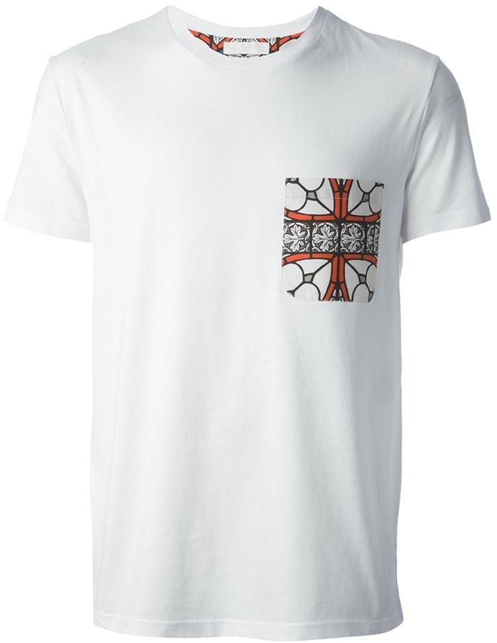 Alexander McQueen stained glass print t-shirt