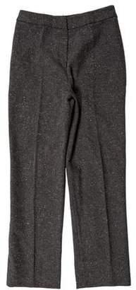 Valentino Mid-Rise Straight-Leg Pants