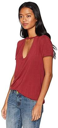 LIRA Women's Emmy V Neck Top