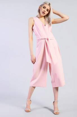 Glamorous **Tie Jumpsuit by Tall