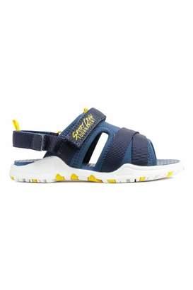 H&M Scuba-look Sandals - Dark blue - Kids