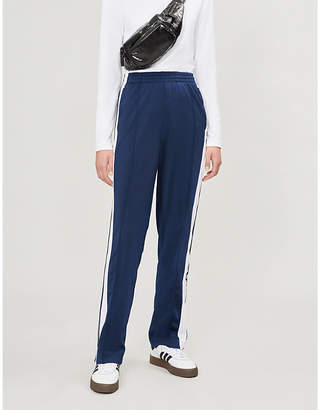 adidas Adibreak side-stripe stretch-jersey jogging bottoms