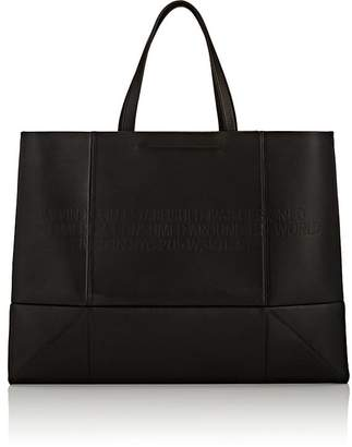 Calvin Klein Women's Amazon East West Leather Tote Bag