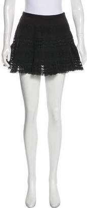 LoveShackFancy Lace Mini Skirt
