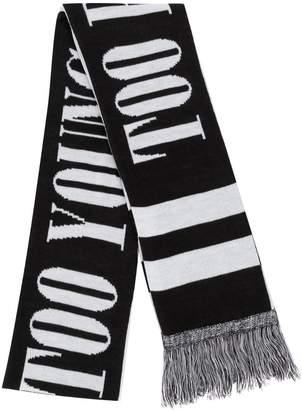 Neighborhood Too Young scarf