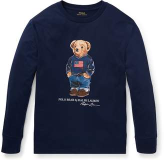 Ralph Lauren Polo Bear Cotton T-Shirt