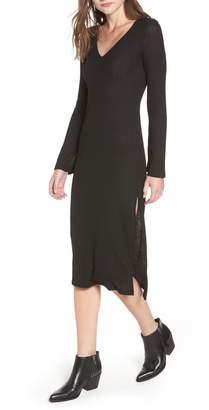LIRA Lexi Ribbed Midi Dress