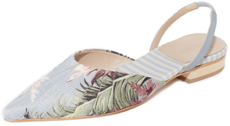 Zimmermann Printed Flats $480 thestylecure.com