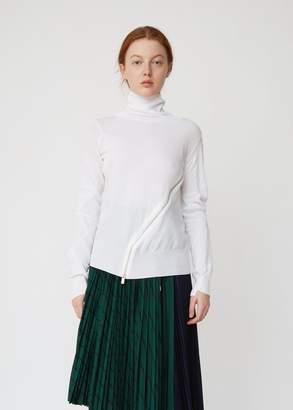 Sacai Turtleneck Sweater with Zipper