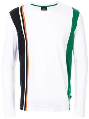 Paul Smith block stripe jersey top