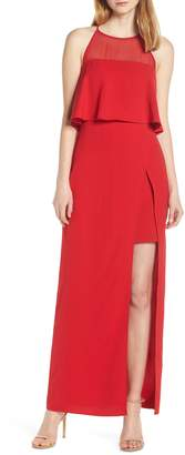 Harlyn Sleeveless Popover Gown