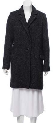 Etoile Isabel Marant Wool-Blend Bouclé Coat