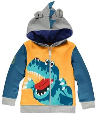 Little Hand Toddler Boys Dinosaur Monster Zip-Up Cotton Hoodies