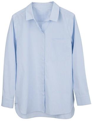 Cuyana Poplin Boyfriend Shirt