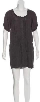 Rebecca Taylor Silk Matelassé Dress