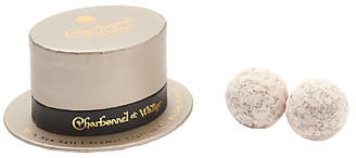 Charbonnel et Walker Milk Sea Salt Caramel Truffles, Top Hat, 24g