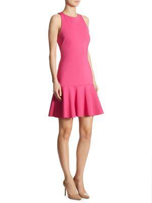Trina Turk Fantastic Scuba Drop-Waist Dress