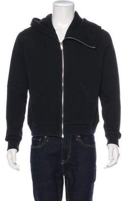 Rick Owens Asymmetrical Zip-Up Hoodie