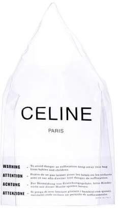 Celine 2018 PVC Shopping Tote