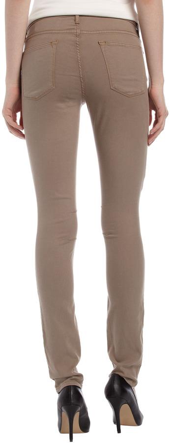 Helmut Lang Five-Pocket Skinny Jeans, Cardboard