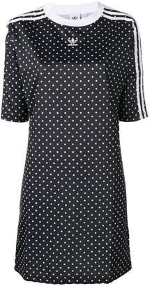 adidas polka dot Trefoil dress