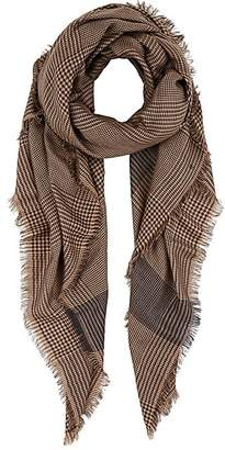 Barneys New York WOMEN'S GLEN PLAID WOOL SCARF