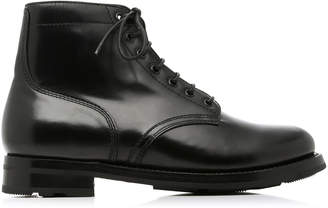 Ralph Lauren Ike Leather Ankle Boots