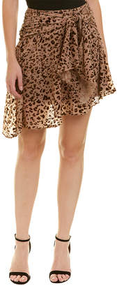 Haute Hippie Edith Wrap Skirt