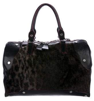 MZ Wallace Leather & Faux Fur Bag