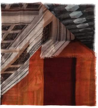 Faliero Sarti Hermitage printed scarf