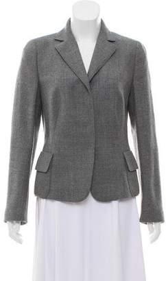 Akris Punto Notch-Lapel Wool Blazer