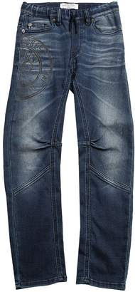 John Galliano Denim Effect Cotton Pants
