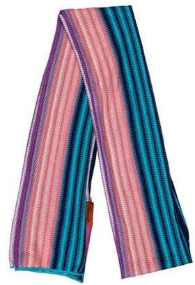 Missoni Striped Patterned Scarf