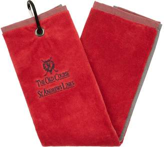 Harrods St Andrews Links Golf Towel