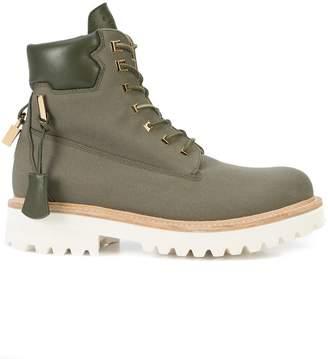 Buscemi Canvas Site boots