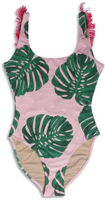 Shade Critters Palm Beach Pink Palm Onepiece