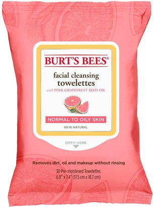 Burt's Bees Facial Cleansing Towelettes - Pink Grapefruit