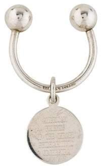 Tiffany & Co. Sterling Silver Keyring