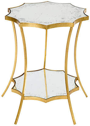 One Kings Lane Astre Two-Tiered Side Table - Gold