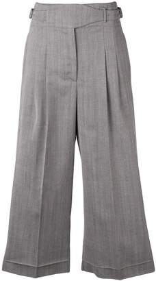 Golden Goose cropped herringbone trousers