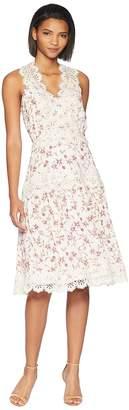 Adelyn Rae Payton Woven Midi Dress Women's Dress