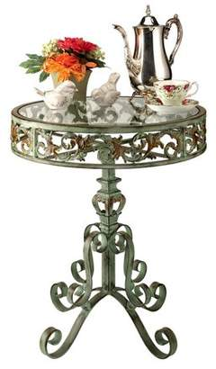 Toscano Design Crystal Palace Conservatory Metal Side Table