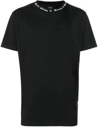 Marcelo Burlon County of Milan logo trim T-shirt
